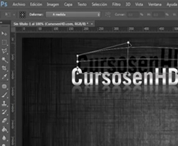 Curso vídeo Photoshop. Efectos de texto con objetos inteligentes