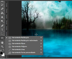 Curso vídeo Photoshop CS6. Panel o barra de herramientas