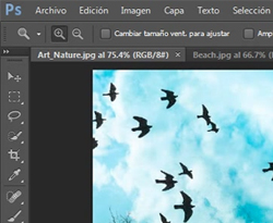 Curso vídeo Photoshop CS6. Interfaz de usuario