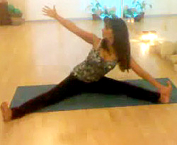 Curso vdeo Serie de posturas sedentes. Yoga para principiantes