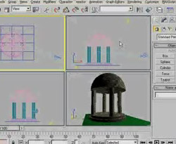 Curso vdeo 3d Max. Templo
