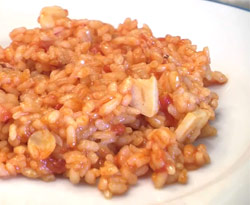 Curso vdeo Arroz seco. Recetas de cocina