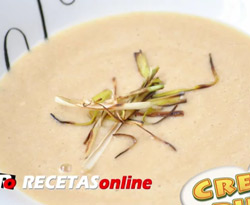 Curso vdeo Receta. Crema de puerros