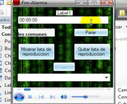 Curso vídeo Visual Basic Express. Crear una alarma (4/4)