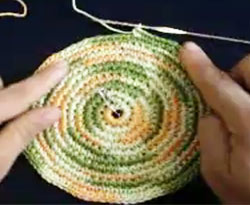 Curso vdeo Tejido crochet. Gorro de nio (2/3)