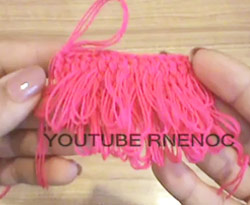 Curso vídeo Ganchillo (crochet). Puntada bucle, rulo o ringlet