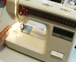 Curso vdeo Costura. Mquina de coser (3/4)