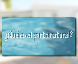 Curso vídeo Embarazo. El parto natural