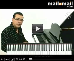 Curso vídeo Clases de piano. Escalas de blues