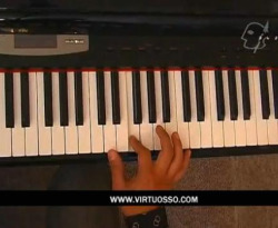 Curso vídeo Clases de piano. Riffs, escala de blues
