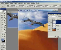 Curso vdeo Las capas de photoshop