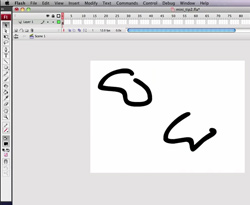Curso vídeo Dibujar con objetos en Flash. Tutorial