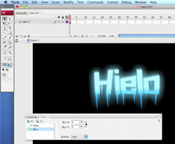 Curso vídeo Texto de hielo. Tutorial Flash HD (efectos)