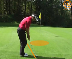 Curso vídeo Golf online. Estrategia para chip de golf
