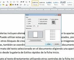 Curso vdeo Barra de zoom en Word 2010. Tutorial