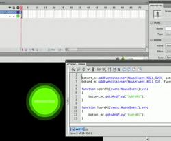 Curso vdeo Flash. Crear un botn interactivo (3/3)