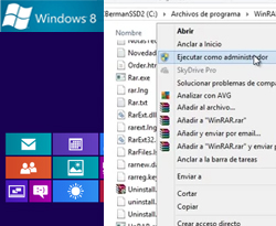 Curso vídeo Ejecutar como administrador en Windows 8