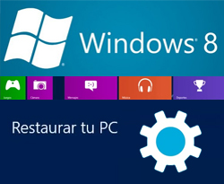 Curso vídeo Restaurar sistema en Windows 8 y recuperar datos de disco duro