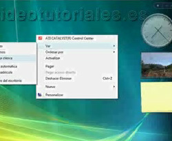 Curso vídeo Windows Vista. Iconos del escritorio
