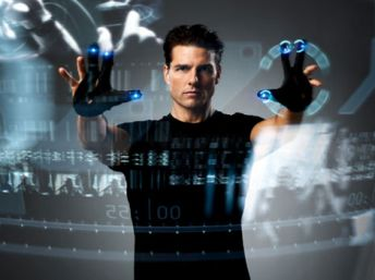 minority report -- one with the machine