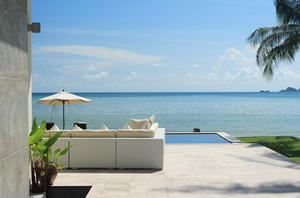 A satisfying tropical beachfront escape