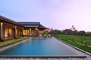 3 bedrooms Overlooking a landscape of rice fields and forest