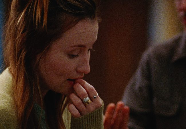 Emily Browning and Adam Horovitz appear in Golden Exits by Alex Ross Perry, an official selection of the U.S. Dramatic Competition at the 2017 Sundance Film Festival. © 2016 Sundance Institute | photo by Sean Price Williams.