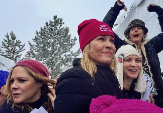 Sundance 2017: Chelsea Handler Leads Women's March Anti-Trump Protest at Festival