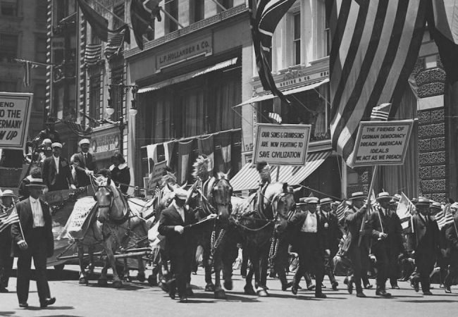 INDEPENDENCE DAY, 1918, NEW YORK CITY. Credit: National Archives & Records