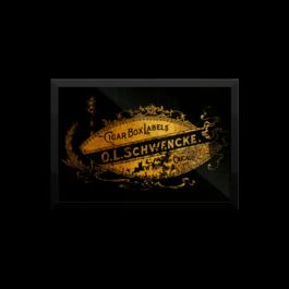 Cigar Box Label Vintage Poster
