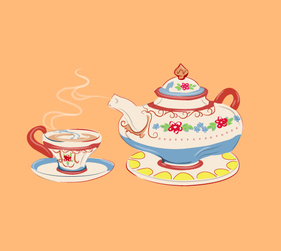 A Tea Valentine