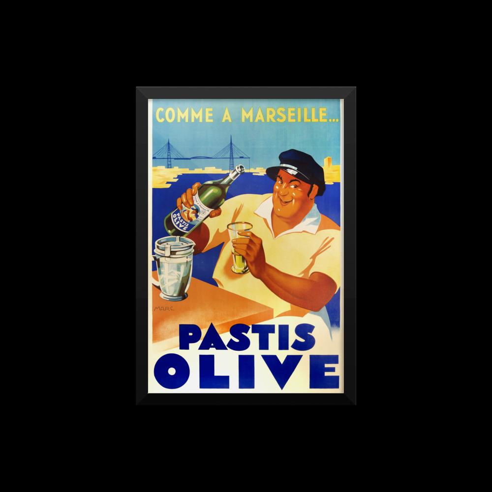 Pastis Olive Poster