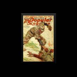 Baseball Popular Magazine Poster