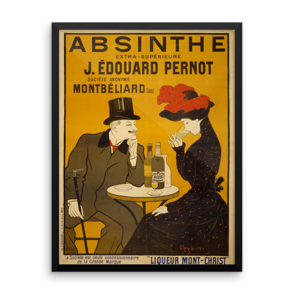 French Liqueur Poster