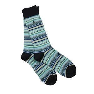 6 74004351 socks navy and blue narrow striped bamboo socks 1 600x sq