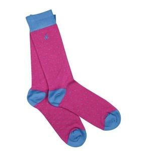 6 367835797 socks spotted blue bamboo socks 1 2048xsq