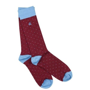 6 70047100 socks spotted burgundy bamboo socks 1 2048xsq