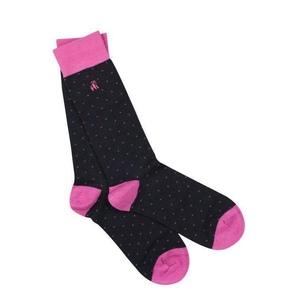 6 252153739 socks spotted pink bamboo socks 1 2048xsq