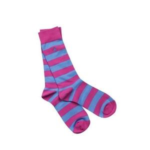 6 289344279 socks pink and blue striped bamboo socks 1 4a2b366c c5ae 4c70 b5ec ca224e3df230 2048xsq