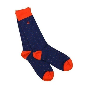 6 454635650 socks spotted orange bamboo socks 1 d33a5fd0 466c 403a af7d 2852cbc610df 2048xsq