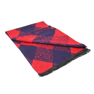 6 87571228 scarves blue and red spotted argyle bamboo scarf 1 2048xsq
