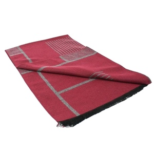 6 465908456 scarves red and grey tiled bamboo scarf 1 2048xsq