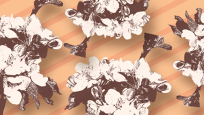 Apple blossom ball header