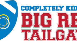 Big red tailgate logo