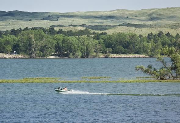 Merritt reservoir state recreation area for Nebraska fishing permit