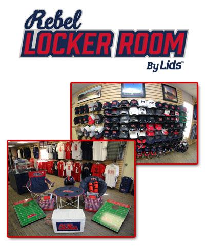 Rebel Locker Room by LIDS - Visit Oxford MS