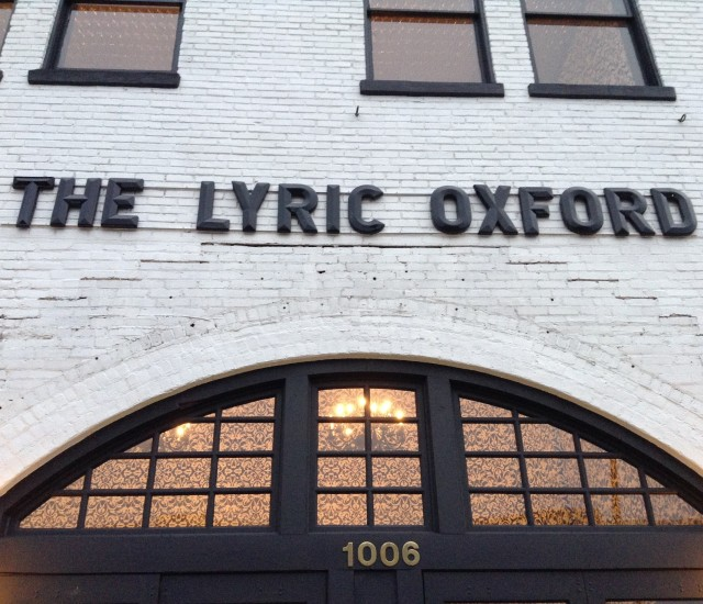 The Lyric Oxford MS