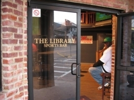 Library Sports Bar, Oxford MS