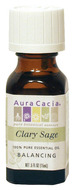 Image of Aura Cacia Essential Oil, Clary Sage