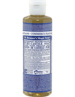 Image of Dr. Bronner's Organic Peppermint Oil Pure Castile Soap Liquid